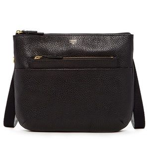 Fossil Tessa Zip Top Leather Crossbody Bag - NWT!